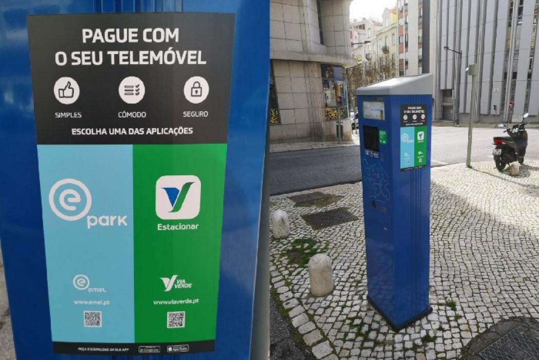 Lisbon Parking Ticket Machine