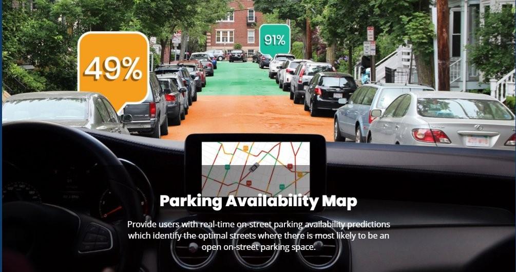 Parknav Parking Availability Map